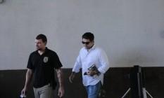 O advogado Gustavo Guedes tentou visitar Temer Foto: Bruno Kaiuca