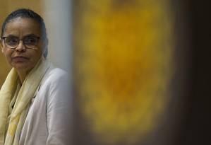 Marina, candidata à Presidência derrotada nas eleições de 2018, desistiu de fundir a Rede com o PPS Foto: Edilson Dantas / Agência O Globo