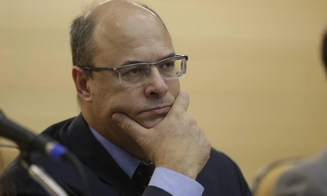 Wilson Witzel tem adotado posições mais pragmáticas, que se descolam do discurso de Bolsonaro Foto: Marcio Alves / Marcio Alves