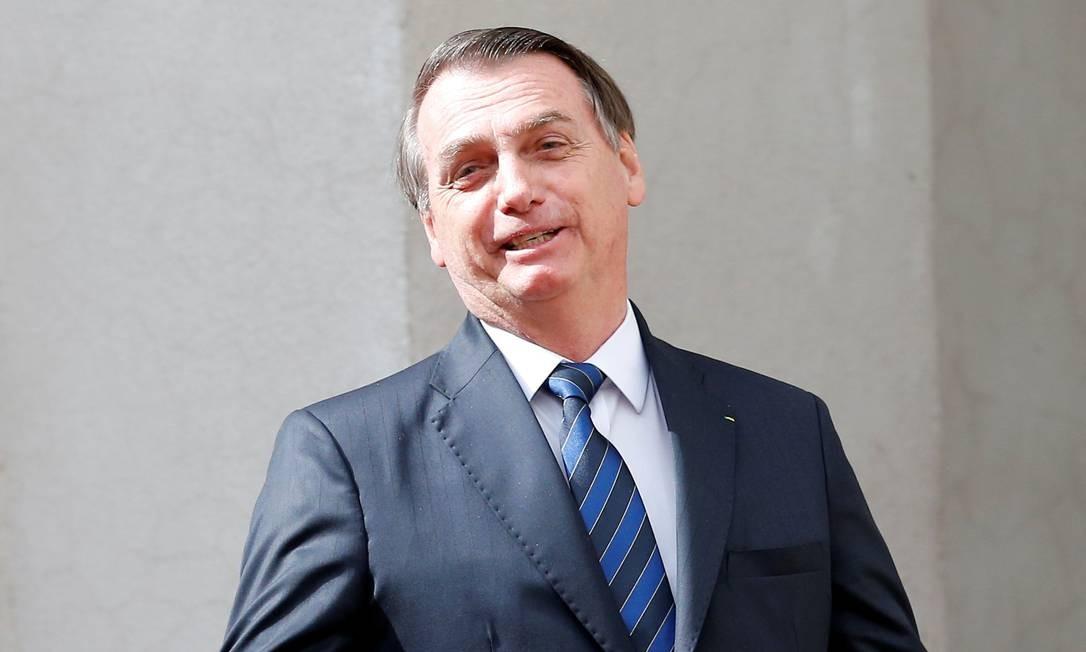 Após voltar do Chile, Bolsonaro recebeu líder do PSL na Câmara para tratar de Previdência Foto: Rodrigo Garrido / Reuters