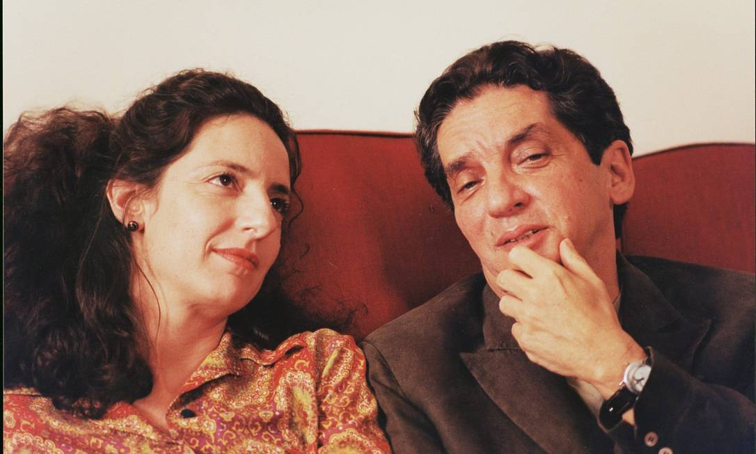 """Domingos de Oliveira com Clarice Niskier em cena de """"Amores"""" Foto: Silvio Pozatto / DivulgAÇÃO"""
