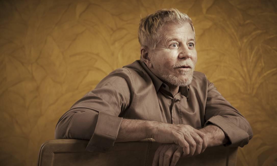 Miguel Falabella: aos 62 anos, ator e diretor anda preocupado com o estado das coisas Foto: Leo Martins / Agência O Globo