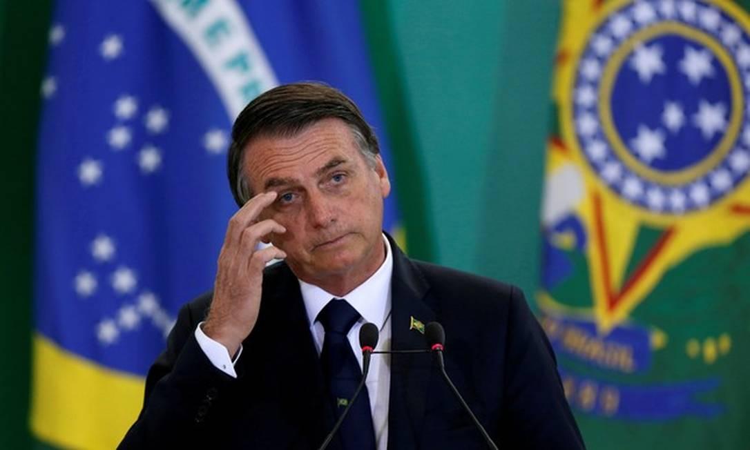 O presidente Jair Bolsonaro Foto: Agência Brasil