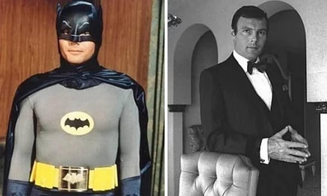 Adam West: 'Batman, o Homem-Morcego' (1966). Fã do personagem criado por Bob Kane em 1939, Adam West começou a interpretar o Batman num seriado da Fox para a TV, antes de ser escalado para levar o herói para as telonas. Foto: Divulgação