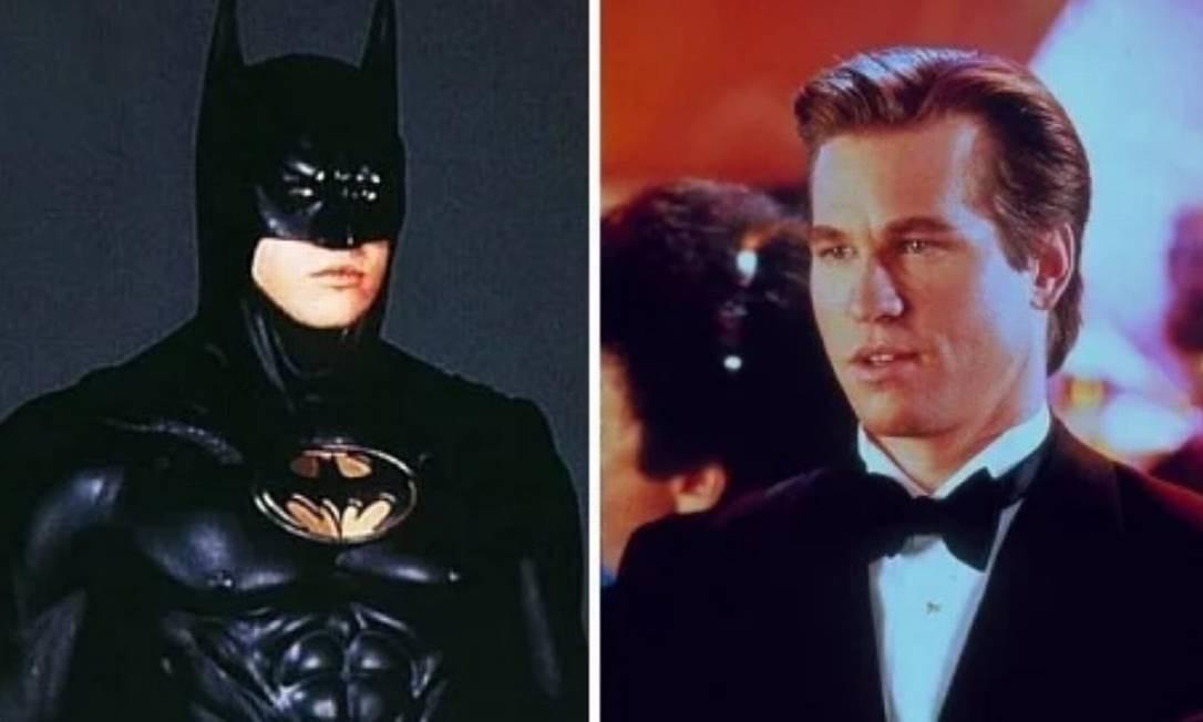 Val Kilmer: 'Batman Eternamente' (1995). O filme fez sucesso com o público, rendendo mais de US$ 336 milhões, tornando-se a segunda maior bilheteria de 1995. Foto: Divulgação