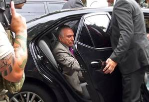 O ex-presidente Michel Temer foi preso em São Paulo na quarta-feira passada Foto: AFP
