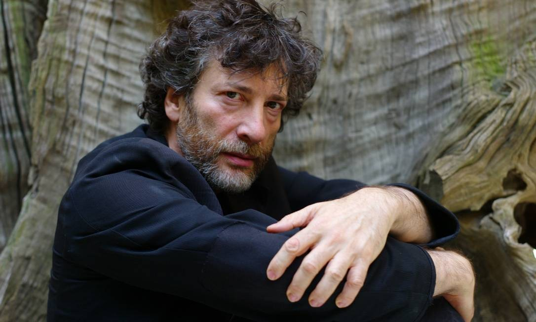O escritor e quadrinista britânico Neil Gaiman Foto: Ozier Muhammad / NYT