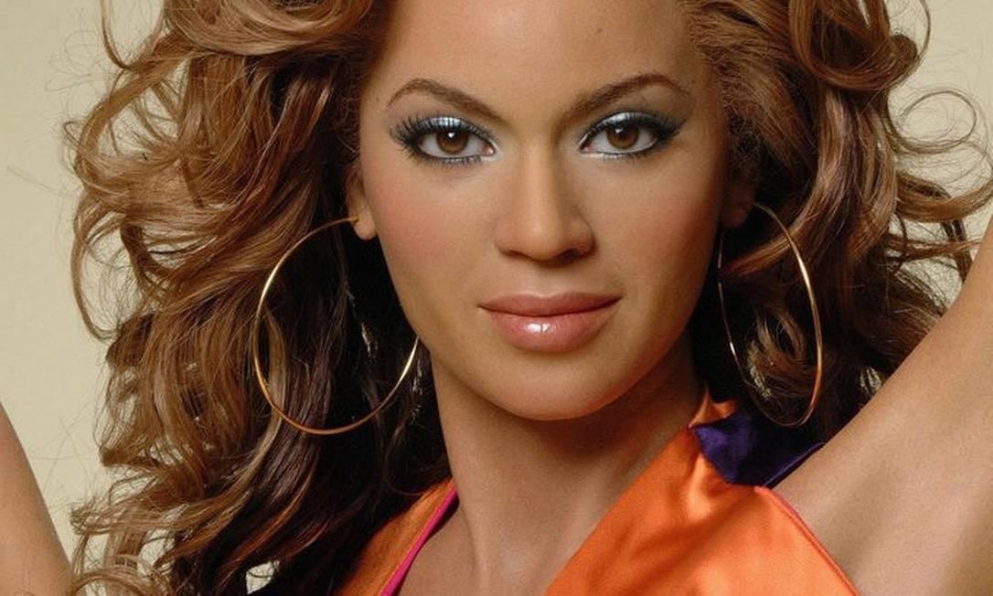Beyoncé (de cera) no Madame Tussauds de Hollywood, que abre para pernoite Foto: Divulgação