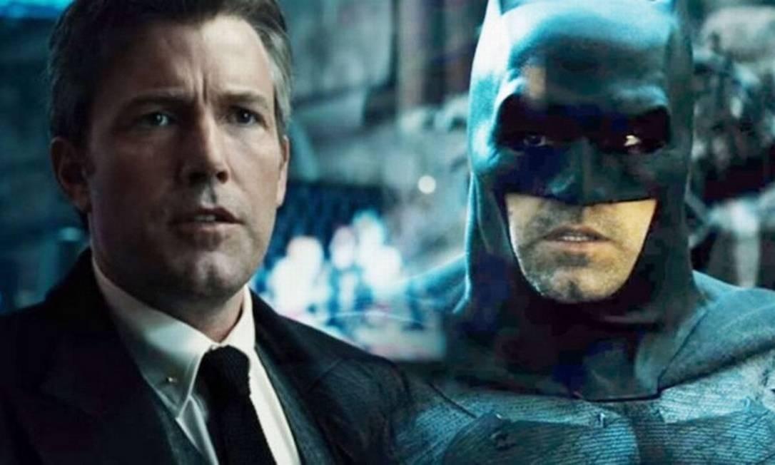 """Ben Affleck: """"Batman v Superman: Dawn of Justice"""" e """"Esquadrão suicida"""" (2016) e """"Liga da justiça"""" (2017). Em agosto de 2013 foi escolhido pela Warner Bros. para interpretar Bruce Wayne / Batman, fazendo sua estreia em """"Batman v Superman: Dawn of Justice"""" (2016). Foto: Divulgação"""