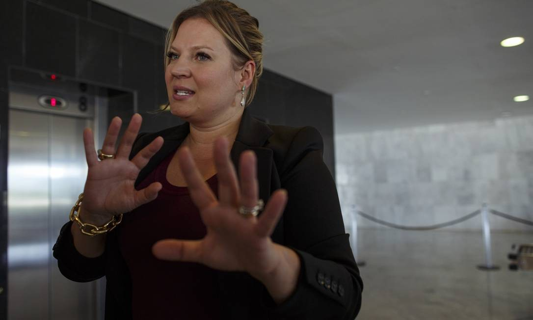 Joice trava disputa com Zambelli, correligionária do mesmo estado Foto: Daniel Marenco / Agência O Globo (09/01/2019)