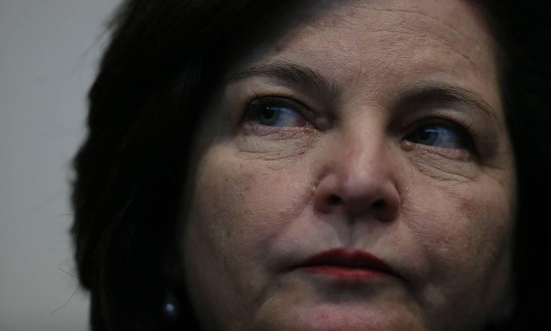 Procuradora-geral da República, Raquel Dodge Foto: Jorge William / Agência O Globo