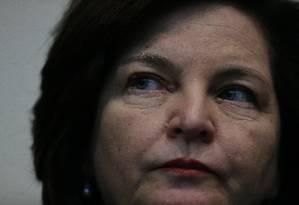 A procuradora-geral da República, Raquel Dodge Foto: Jorge William / Agência O Globo