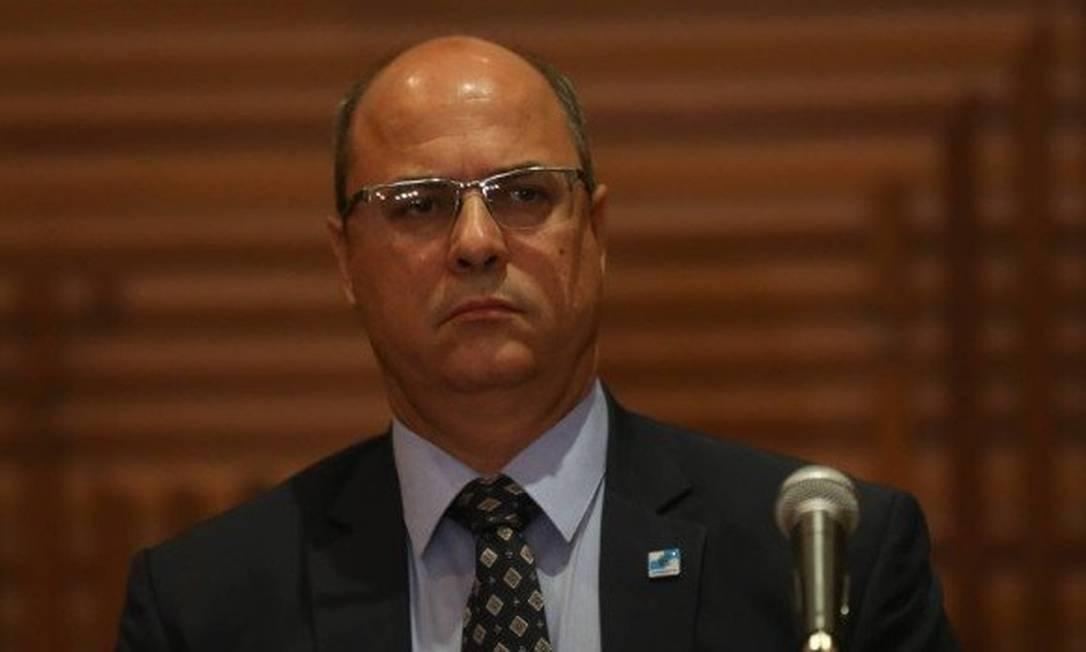 O governador do Rio, Wilson Witzel Foto: / Pedro Teixeira- Agência O Globo