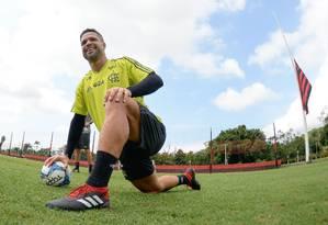 Diego será poupado no Fla-Flu de quarta-feira Foto: Alexandre Vidal/Flamengo