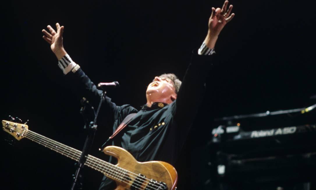 Os shows de Paul, que nunca havia se apresentado no país, foram então anunciados para os dias 19 e 21 de abril de 1990, no estádio do Maracanã, no Rio. Foto: O Globo