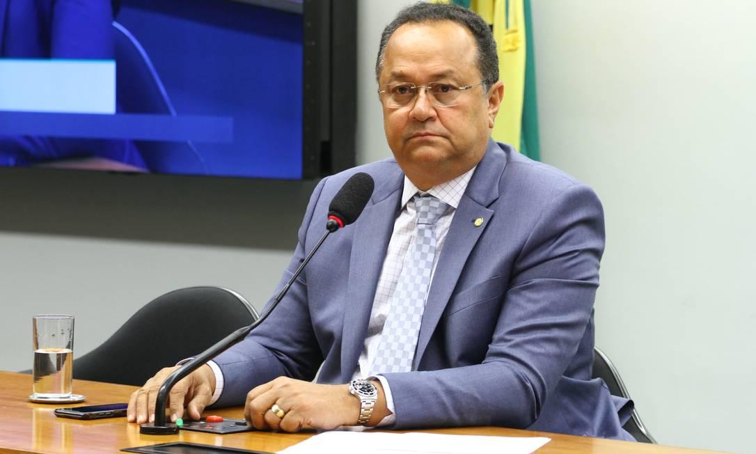 O deputado Silas Câmara (PRB-AM) durante sessão em comissão da Câmara Foto: Divulgação/ Câmara