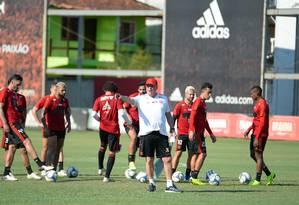 Flamengo pode entrar com reservas se for à final da Taça Rio Foto: Alexandre Vidal / Flamengo/Divulgação