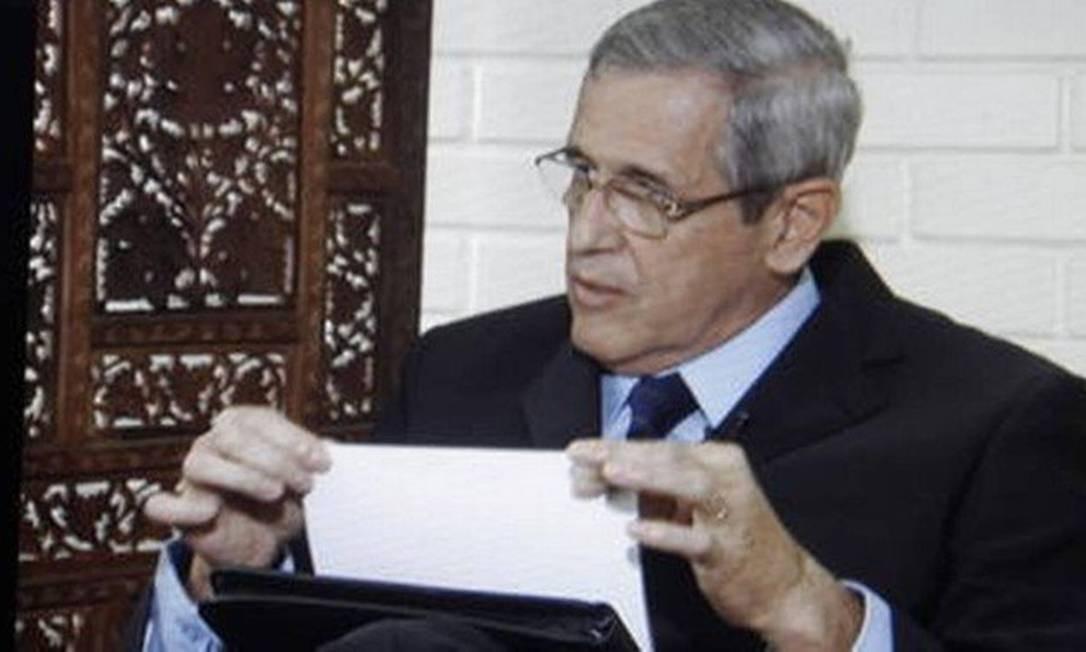 O general da reserva Luiz Eduardo Rocha Paiva fará parte da Comissão de Anistia Foto: Reprodução TV Globo / Reprodução TV Globo
