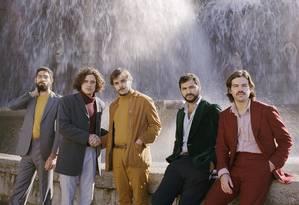 O grupo português de indie rock Capitão Fausto Foto: Divulgação
