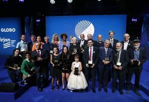 O Prêmio Faz Diferença prestou homenagem a brasileiros que se destacaram em 2018 em 18 categorias Foto: Pablo Jacob / Agência O Globo
