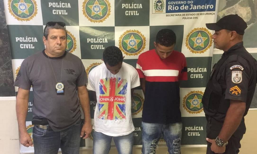 Mais dois suspeitos de estupro coletivo foram presos Foto: Divulgação / Polícia Civil