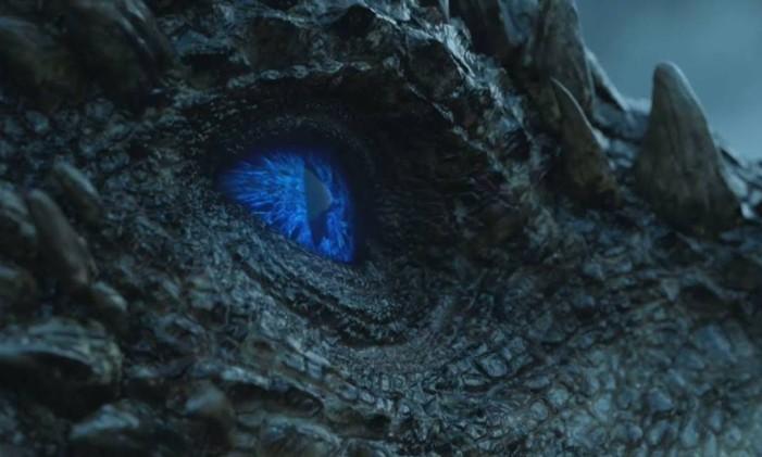 Dragão de gelo Foto: Reprodução/HBO