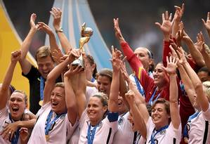 Estados Unidos são os maiores vencedores da competição, com três títulos Foto: Fifa / Fifa