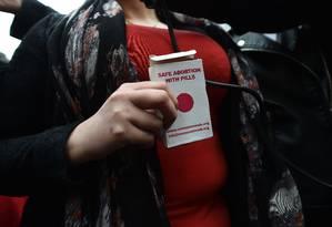 Pelas normas atuais da Anvisa, remédios com o princípio ativo do misoprostol só podem ser usados em hospitais credenciados pelo Ministério da Saúde para a realização de aborto legal Foto: Charles McQuillan / Getty Images