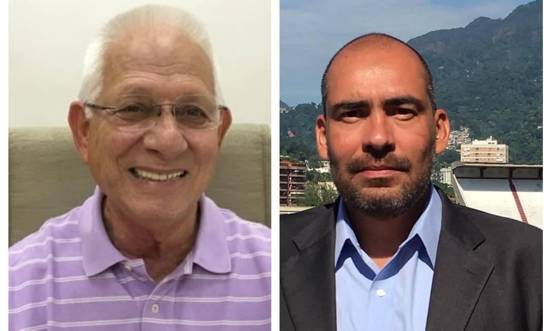 Pedrazzi e Bechara concorrem ao Conselho Fiscal Foto: Reprodução