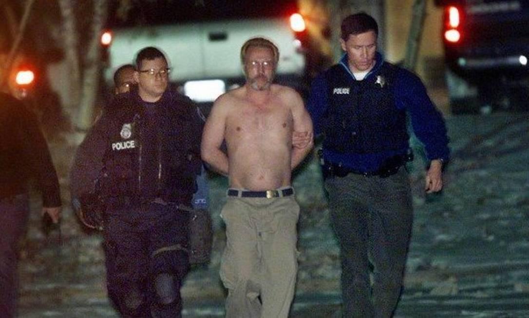 Patrick Murphy foi recapturado após fugir em 2011 Foto: Michael Mulvey/ AFP
