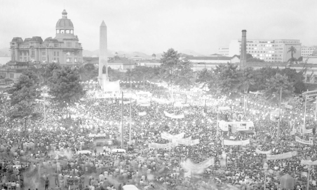 """Marcha da Vitória"" Foto: Agência O Globo"
