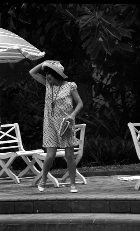 Varda ficou hospedada no Copacabana Palace com outros nomes de peso que participaram do II Festivanl Internacional do Filme, como Joseph Von Sternberg e Roman Polanski Foto: Arquivo o Globo / Agência O Globo