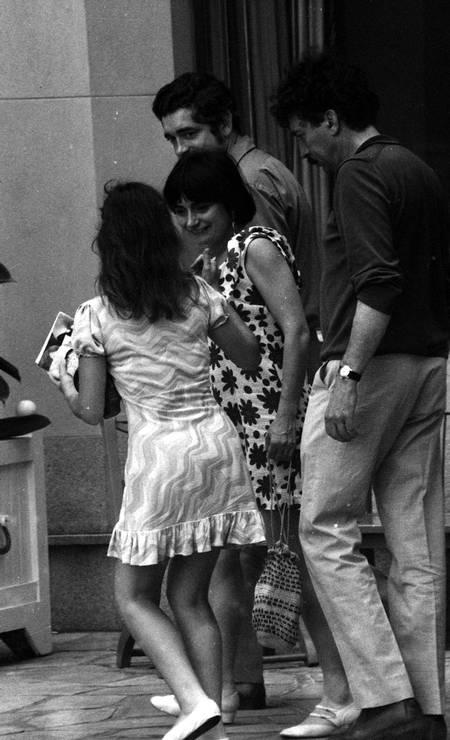 Diretora franco-belga foi tietada pelos cariocas Foto: Arquivo o Globo / Agência O Globo