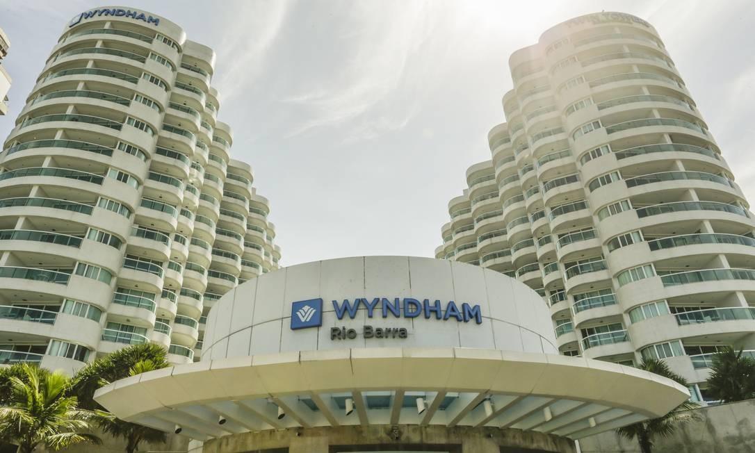 Sob nova direção: o Sheraton Barra agora pertence à rede Wyndham. Foto: Gabriel de Paiva / Agência O Globo