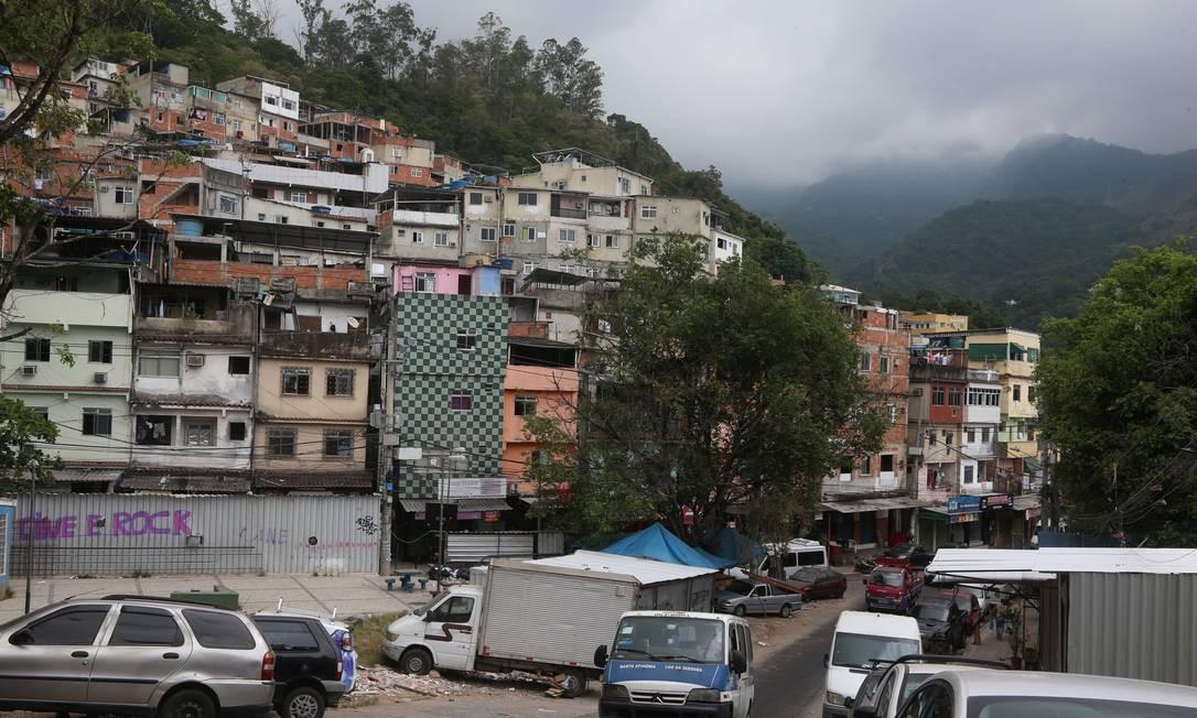 Rio das Pedras, comunidade da Zona Oeste do Rio (Arquivo) Foto: Fabiano Rocha / Agência O Globo
