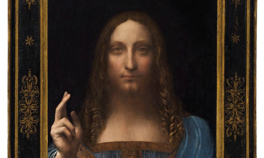 'Salvator Mundi': com cancelamento de exposição, autenticidade voltou a ser questionada Foto: Reuters