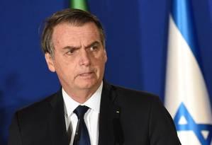 O presidenteJair Bolsonaro Foto: POOL/REUTERS / REUTERS