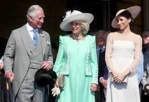 Charles, Camilla e Meghan Foto: Chris Jackson / Chris Jackson/Getty Images