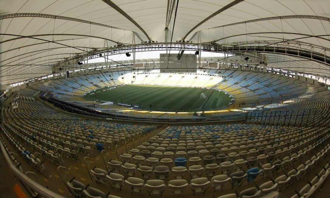 Maracanã terá administração temporária e clubes do Rio estão de olho Foto: Custódio Coimbra / Agência O Globo