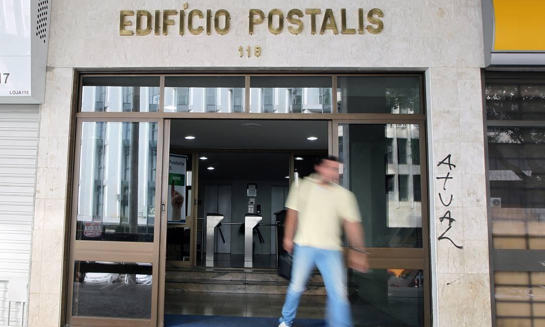 Prédio sede dos Postalis, em Brasilia. Foto : Sérgio Marques/Agência O Globo Foto: Sérgio Marques / Agência O Globo