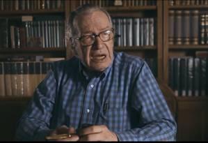 Em filme, Olavo de Carvalho diz que houve
