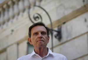 O prefeito do Rio, Marcello Crivella, em 2018 Foto: Pablo Jacob / Agência O Globo
