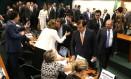 Ministro da Economia Paulo Guedes durante audiência na CCJ da Câmara Foto: Jorge William / Agência O Globo
