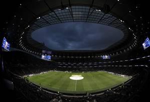 Novo estádio do Tottenham foi inaugurado nesta quarta-feira Foto: Divulgação