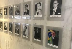Galeria de fotos de presidentes da República Foto: Jussara Soares / Agência O Globo