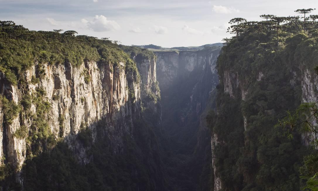 Parque Nacional de Aparados da Serra: unidade de conservação é conhecida pelos cânions Foto: Guito Moreto/3-5-2013