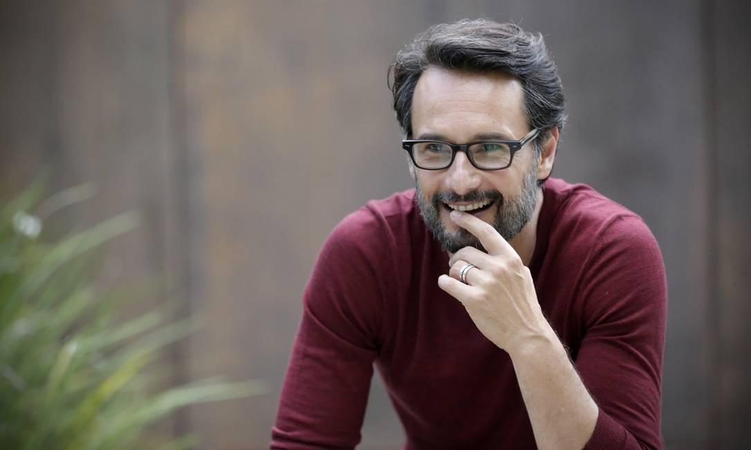 O ator Rodrigo Santoro Foto: Marcio Alves / Agência O Globo