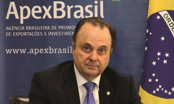 Embaixador Mario Vilalva, presidente da Apex Foto: Reprodução/site ApexBrasil