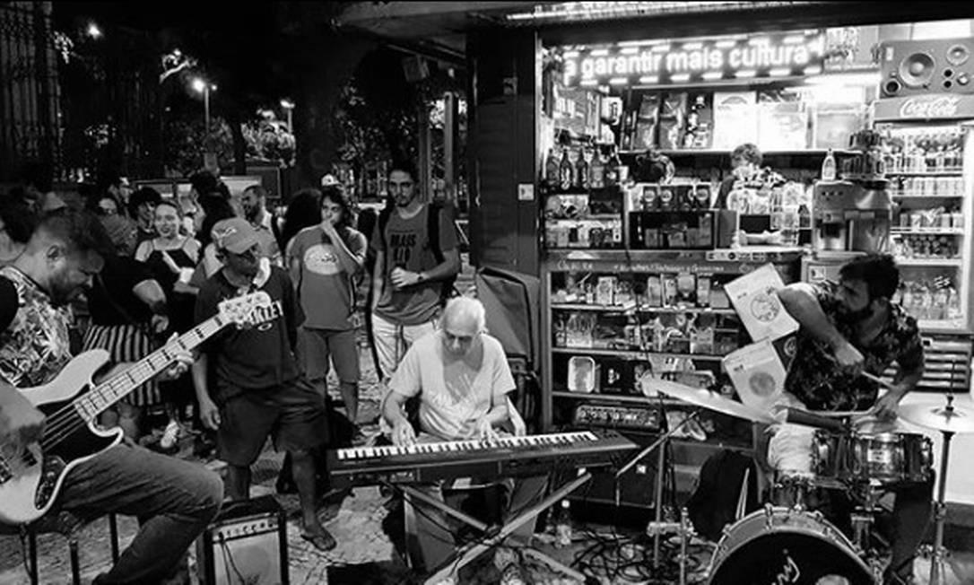 Banca do André: jazz às quintas e choro às sextas Foto: Divulgação/Thiago Ramos