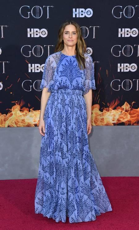 A atriz Amanda Peet Foto: ANGELA WEISS / AFP